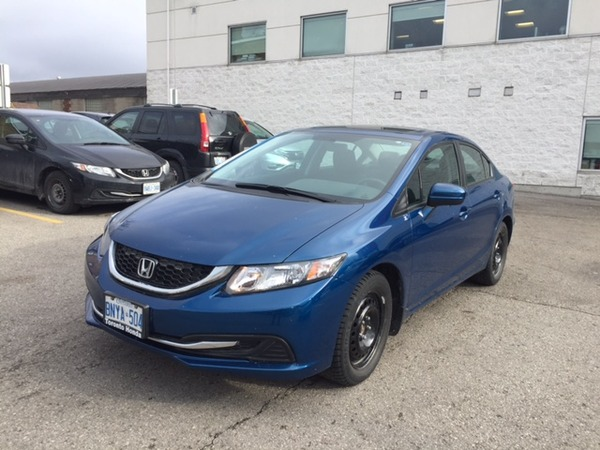 Break a lease toronto area honda dealership buy new or for Lease a honda civic